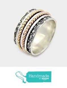 New worry ring, Sterling silver Spinning Ring, 5 piece spinner rings, spinner bands, anxiety spinner ring, Spin ring, silver wedding rings from By Nature Jewellery https://www.amazon.com/dp/B01JLLFUYE/ref=hnd_sw_r_pi_dp_hX0JybK56QQVJ #handmadeatamazon