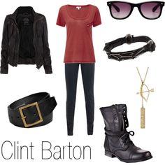 """""""Clint Barton"""" by ja-vy on Polyvore"""