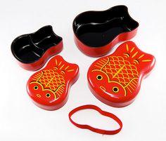Oyako Kingyo - Crumbs and Petals bento box