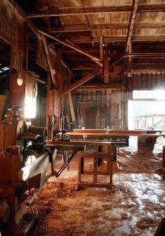 old wood workshop - Google Search