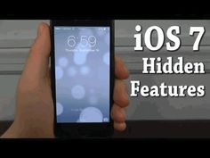 iOS 7 Hidden Features - Top 10 List