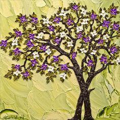 Carla Wright Art Market, American Art, Amazing Art, Floral Wreath, Trees, Wreaths, 3d, Marketing, Inspiration