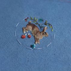 New Tiny Embroideries by Chloe Giordano – Fubiz Media