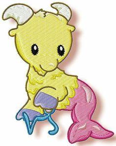 Zodiac Babies www.pamelasembroidery.com