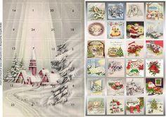 Church advent calendar on Craftsuprint designed by Angela Wake -