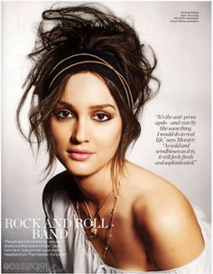 i want do do my hiar like this. i love leighton meester