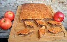 Prăjitură simplă cu mere și aluat fraged rețeta clasică   Savori Urbane Butcher Block Cutting Board, Gem, Deserts, Sweets, Cooking, Recipes, Food, Kitchen, Gummi Candy
