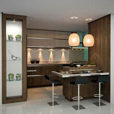 decoracion-cocina-color-cafe - Decoracion de interiores -interiorismo - Decoración - Decora tu casa Facil y Rapido, como un experto