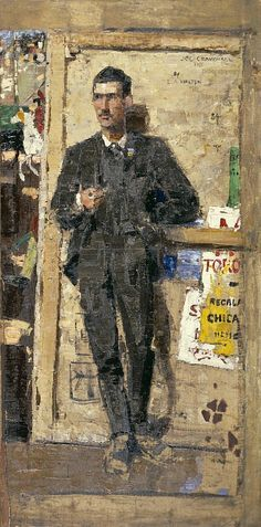 Edward Arthur Walton – Joseph Crawhall -1884