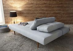 """RECAST PLUS SLEEPER SOFA $1345 79""""W x 38""""D x 25""""H  BED:  79""""L x 55""""D  TIME FRAMES VARY BY AVAILABILITY  SHOWN:  NAVY GREY, SKY BLUE  A DESIGN SPECIALIST WILL CONTACT YOU REGARDING FABRIC OPTIONS"""