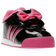 Minnie Mouse Adidas...How cute would Cam be at her party if she had these on @Amanda Poitras Horton, pending if that was the theme to her party :)
