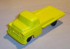 Processed plastic chevrolet flatbed truck model trucks 62a54598 d757 44ea ada5 cd0945001994 medium