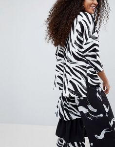 Shop ASOS Made In Kenya Oversized T-Shirt In Zebra Print. With a variety of delivery, payment and return options available, shopping with ASOS is easy and secure. Shop with ASOS today. Zebra Print, Kenya, Afro, Wrap Dress, Casual, How To Make, T Shirt, Shopping, Dresses