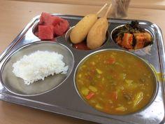 Cute Food, I Love Food, Yummy Food, Korean Food, Mukbang Korean, Hospital Food, Cafeteria Food, Quick And Easy Soup, Food Trays