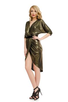 Order here www. Golden Dress, Dresses, Fashion, Vestidos, Moda, Fashion Styles, Dress, Fashion Illustrations, Gown