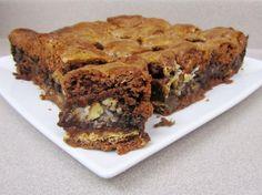 German Chocolate S'mores Gooey Cake Bars 1  OH MY!