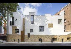 hostel for homeless - Mount Pleasant Studios - Islington/Camden, London - Peter Barber - building study - AJ