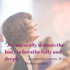 Joy in fitness.