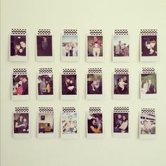 Instax / Washi Tape Wall.
