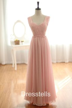 Pretty bridesmaid dress style