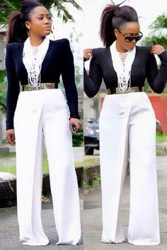 Pants a bit long for my taste but the outfit rocks all together nicely!