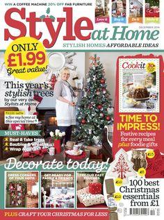 Style at Home December 2014 @styleathomemag @dunelmuk