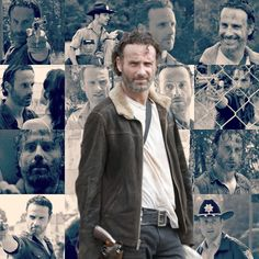 "Find and save images from the ""The Walking Dead📺❤"" collection by Bonnie (wishuweremine) on We Heart It, your everyday app to get lost in what you love. Walking Dead Series, Fear The Walking Dead, Walking Dead Wallpaper, Zombie Apocolypse, Apocalypse, Andy Lincoln, Hollywood, Stuff And Thangs, Rick Grimes"