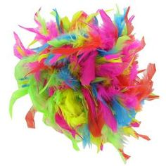 6' Assorted Chandelle Mix Feather Boa