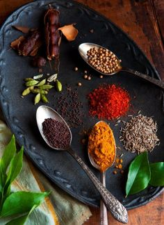 ♂ Still Life Food & drink styling photography Colorful spices of the Caribbean