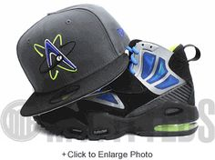 Albuquerque Isotopes Carbon Graphite Grey Black Lime Green Blue New Era Fitted Hat
