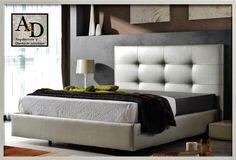 Cabecera acolchada capitonada con marco diy - Cabeceras de cama tapizadas ...