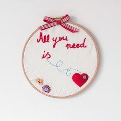 Uma série de ideias para decorar com bastidores em sisters-blogg.blogspot.fr     via silvialagataconbotas.blogspot.fr
