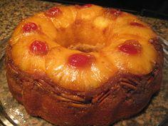 pineapple upside-down cake | Sunday Morning Pineapple Upside Down Cake - Knitting Community