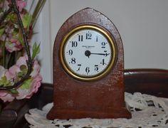Antique Seth Thomas 8 Day Shelf/Desk Clock, Beehive/Gothic, Nice
