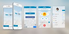 We Port Report to Police - Mobile App UIDesign. Designed by MirzaIftekar