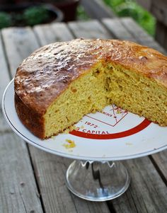 ORANGE-SCENTED OLIVE OIL CAKE (Saveur)