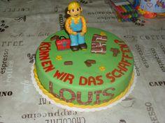 Bob the Builder Cake , Bob der Baumeister Torte