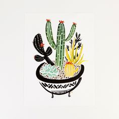 Brighten up your walls with this print. http://go.brit.co/1pTmvWx