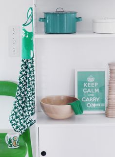 Imagine the colour of the enamel pot used as an accent in a bathroom / wet room.