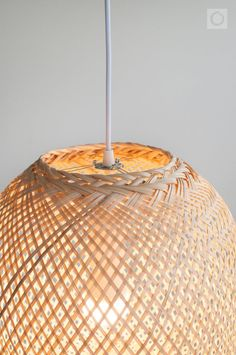 Bamboo Pendant Light, Round Woven Bamboo Hanging Lamp, Re-purposed Spherical Fish Trap Ceiling Lamp, Ball Shape Pendant Lamp, Boho / Round Pendant Light, Bamboo Pendant Light, Bamboo Lamp, Ceiling Canopy, Ceiling Lamp, Ceiling Lights, Pendant Lamp, Pendant Lighting, How To Make Lanterns