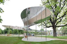 Serpentine Gallery Pavilion in London by SANAA