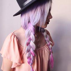 Lilac hair  i capelli lilla per un colore da fata 850deae8b825
