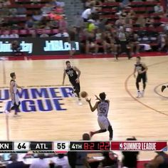 Atlanta Hawks second-year pro DeAndre' Bembry scores 22 points with 3 steals in NBA Summer League opener