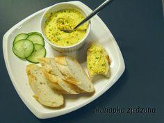 kanapka zjedzona: Żółta pasta do kanapek