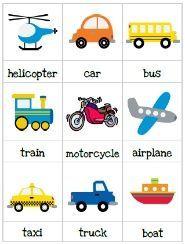 transportation crafts for toddlers | Transportation for Preschool
