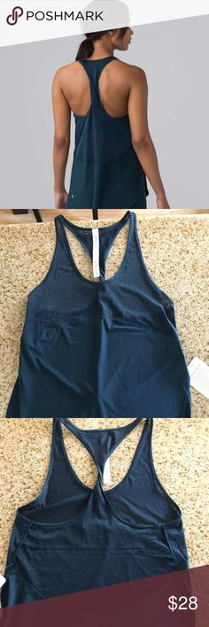 Twist and Train tank size 4 NWT size 4 in Jade lululemon athletica Tops Tank Tops