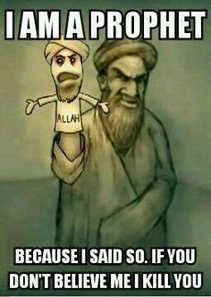 the real islams prophet. Sad but true Muslims.. stuck on stupid since 622