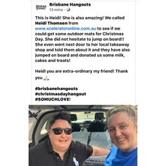 Please help Brisbane Hangouts spread the word to anyone in need of a Christmas Day Lunch. thank you Karen Caruso for your donation🎄 💕 Christmas Day Lunch, Takeaway Shop, So Much Love, Brisbane, Hanging Out, Mens Sunglasses, Instagram Posts, Outdoor, Style