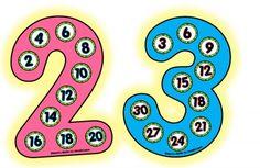 Tarjetas para aprender las tablas de multiplicar de forma sencilla e intuitiva