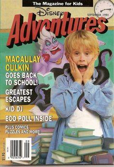 25 very 90s disney adventures magazine covers